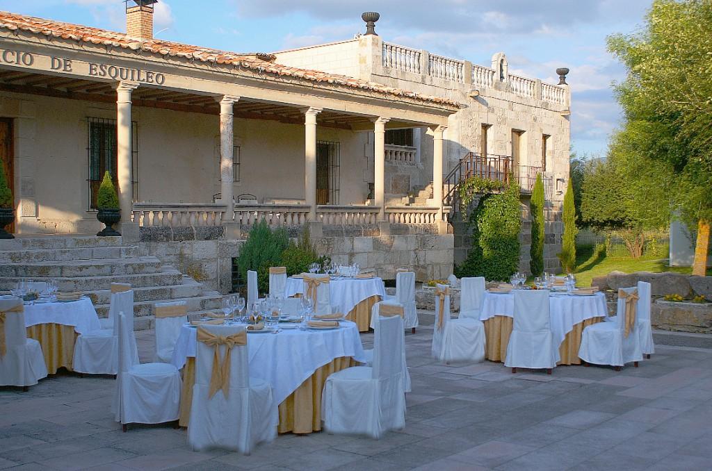 Boda exterior en Segovia