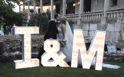 Boda exterior de Iván y Myriam
