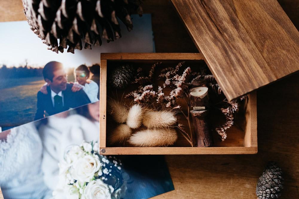 Decoración boda invierno