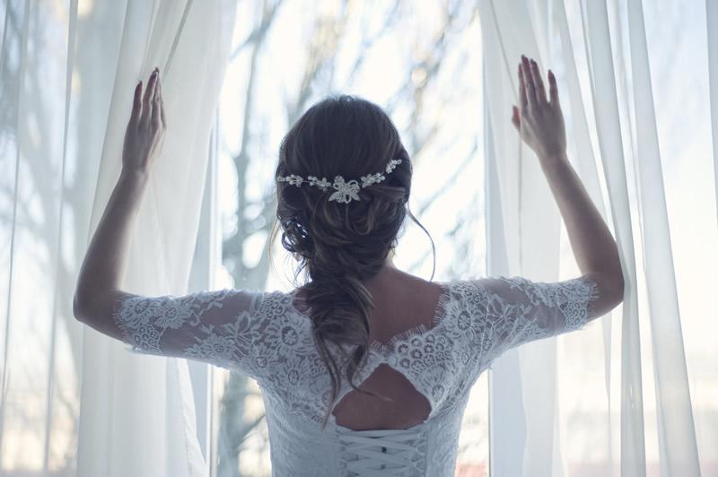 Novia boda íntma