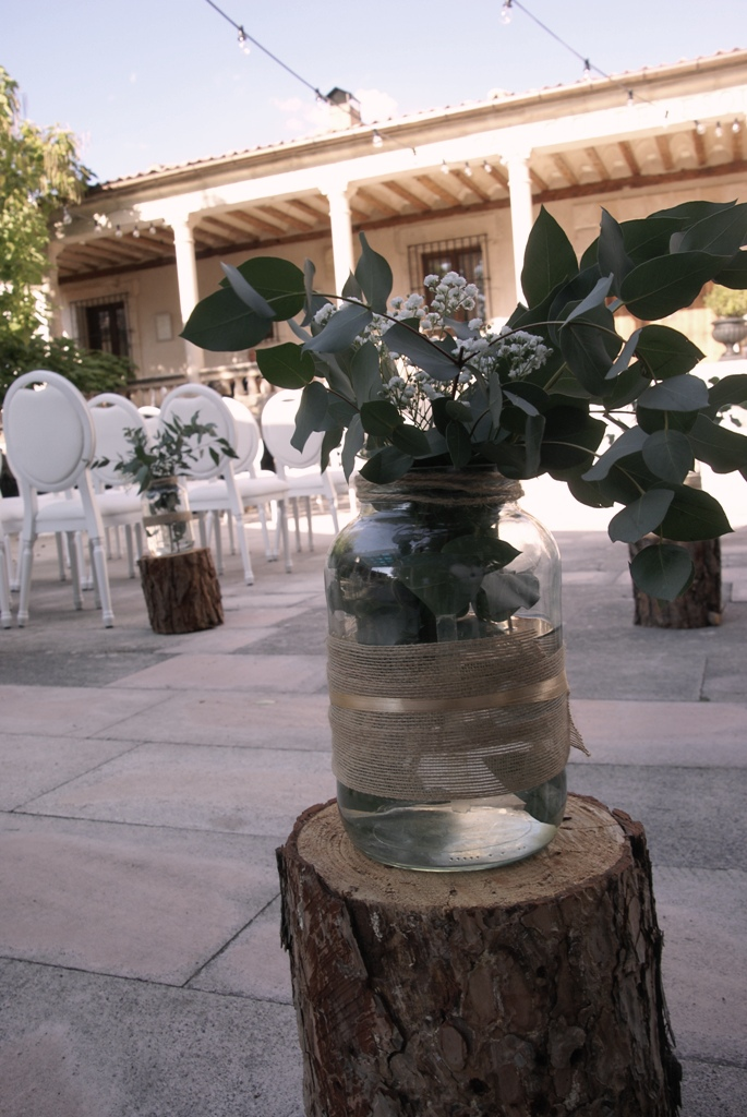 Decoracion boda civil