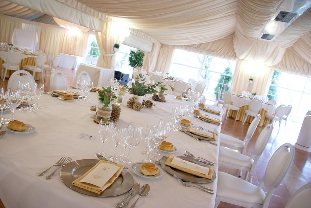 Decoracion mesa boda