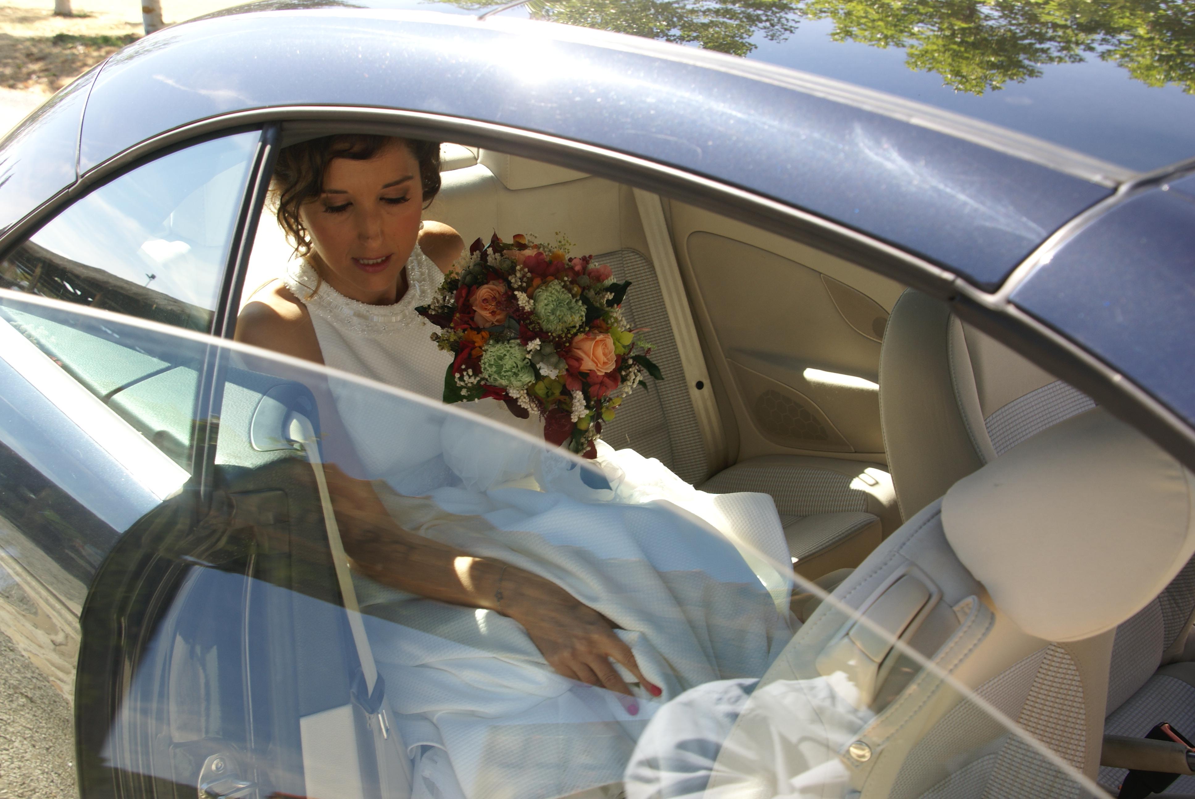 Coche de la novia