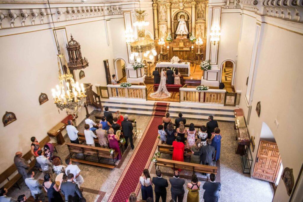 Boda en Iglesia Virgen de las Viñas, Aranda de Duero