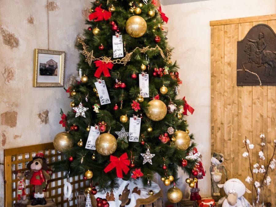 Boda navideña en diciembre